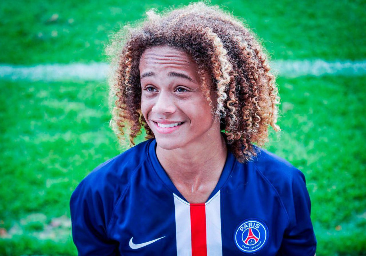 Xavi Simons, a 16-year old wonder kid who plays for PSG