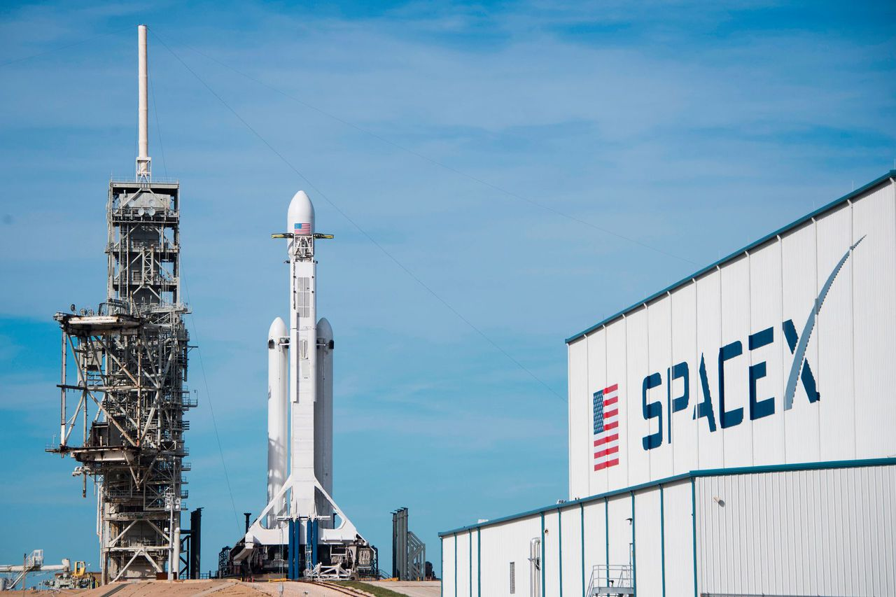 SpaceX has been classified as an essential business, image via Getty Images