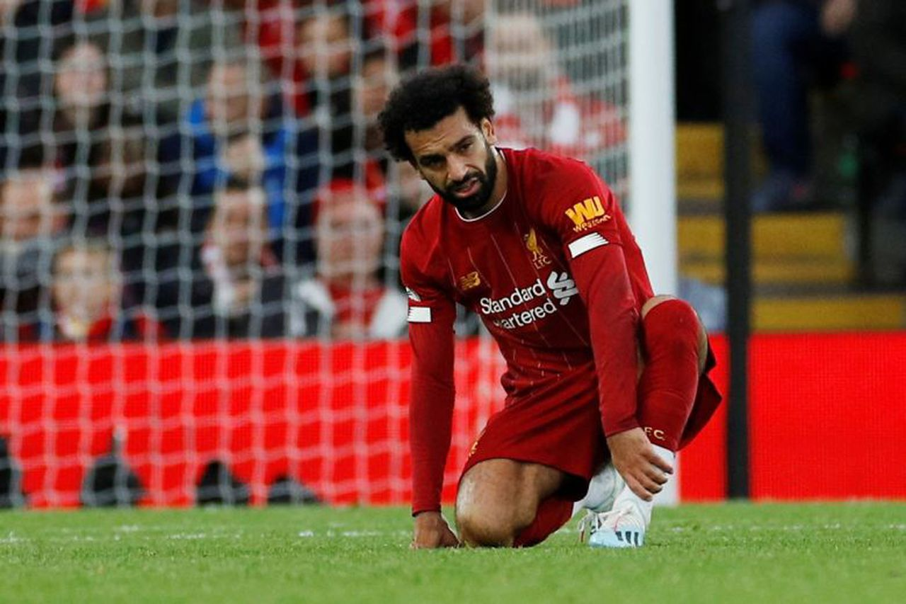 Mohamed Salah has been ruled out of upcoming matches due to an ankle injury, Image via Reuters