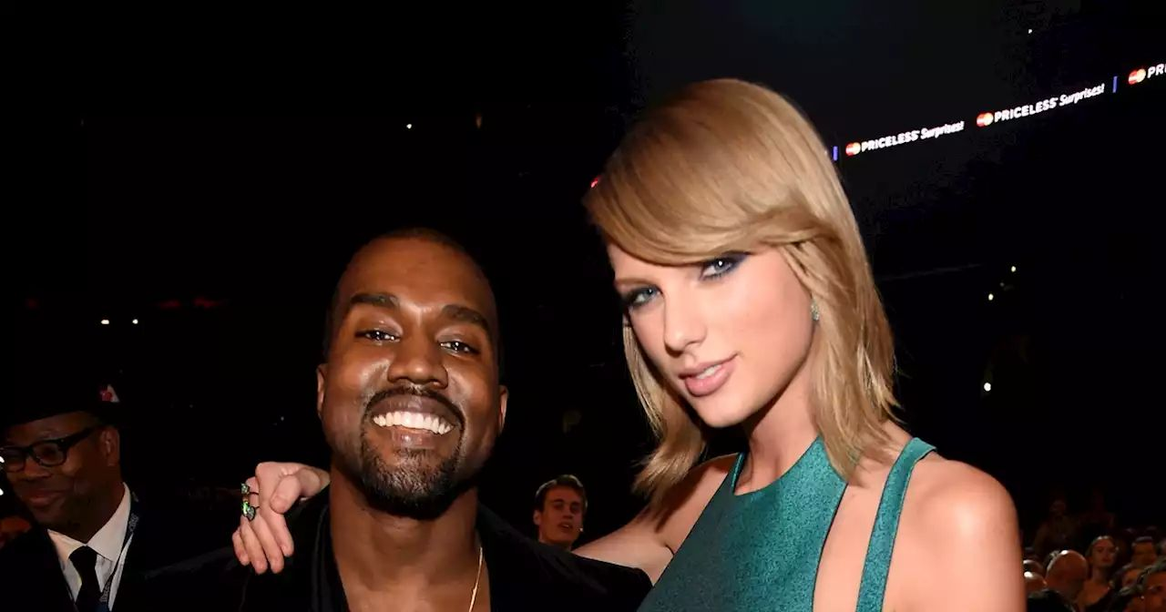 Taylor Swift fans celebrate #KanyeWestIsOverParty as new video of 2016 phone call surfaces. Image via Head Topics.