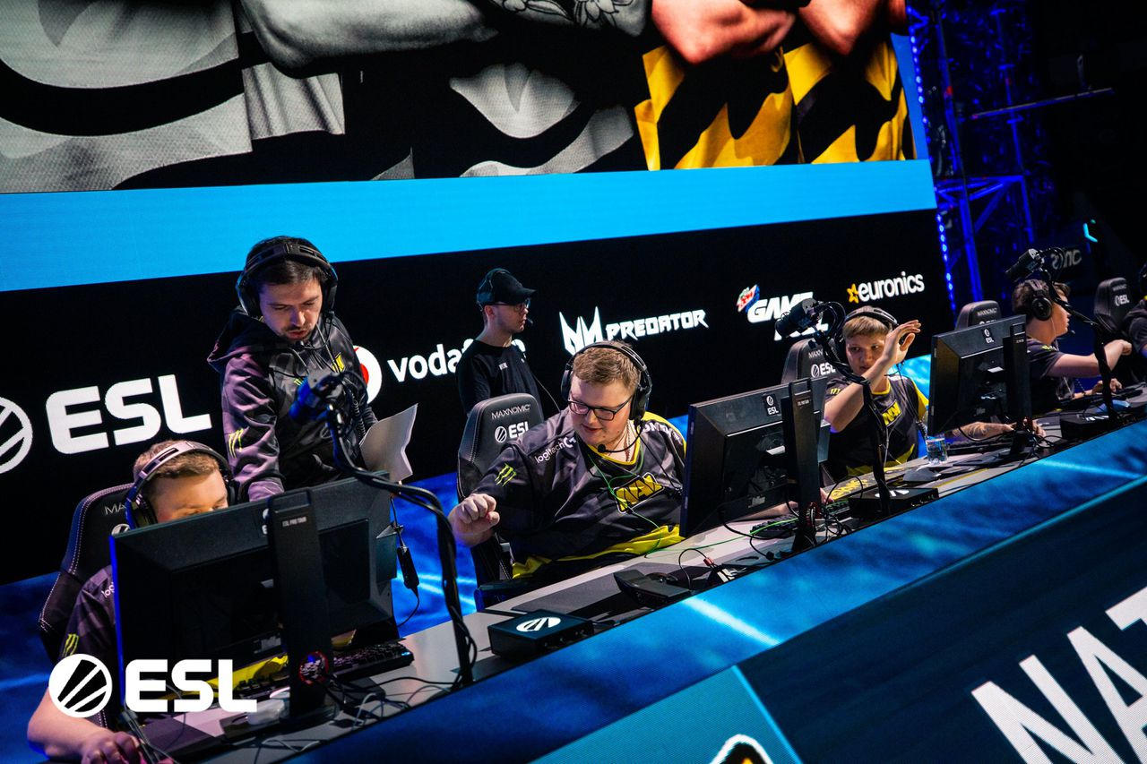 Na'Vi clean sweeps G2 Sports to win IEM Katowice 2020 Grand Finals. Image via Hotspawn.