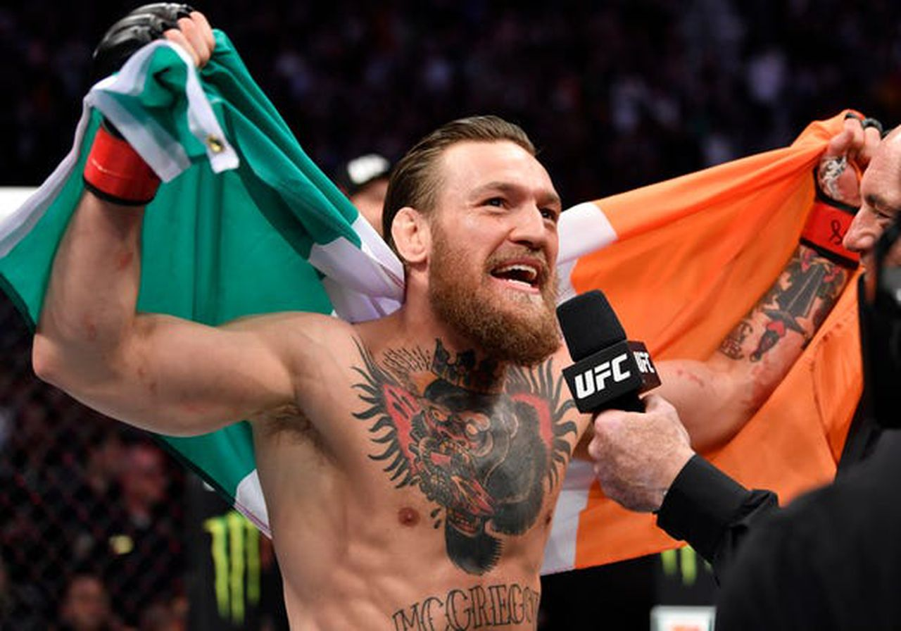 """I'm the second greatest MMA fighter of all time,"" says Conor McGregor"