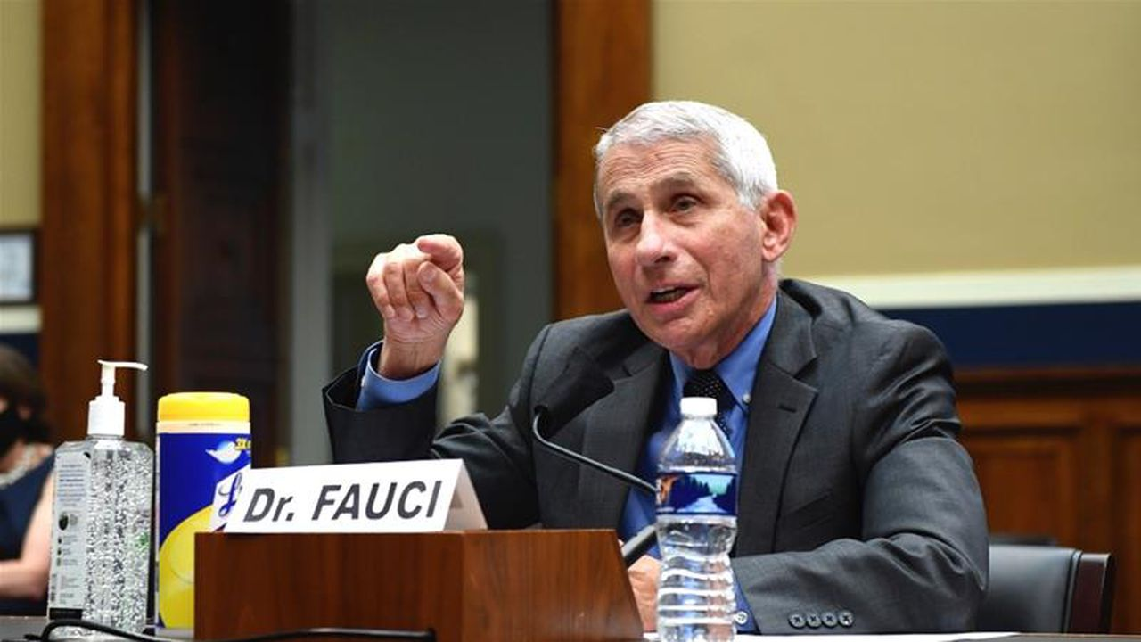 The US could top 100,000 new coronavirus cases per day, says Dr. Fauci