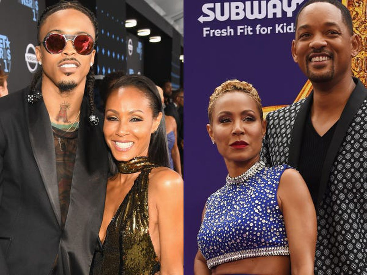 Jada Smith confirms involvement with August Alsina