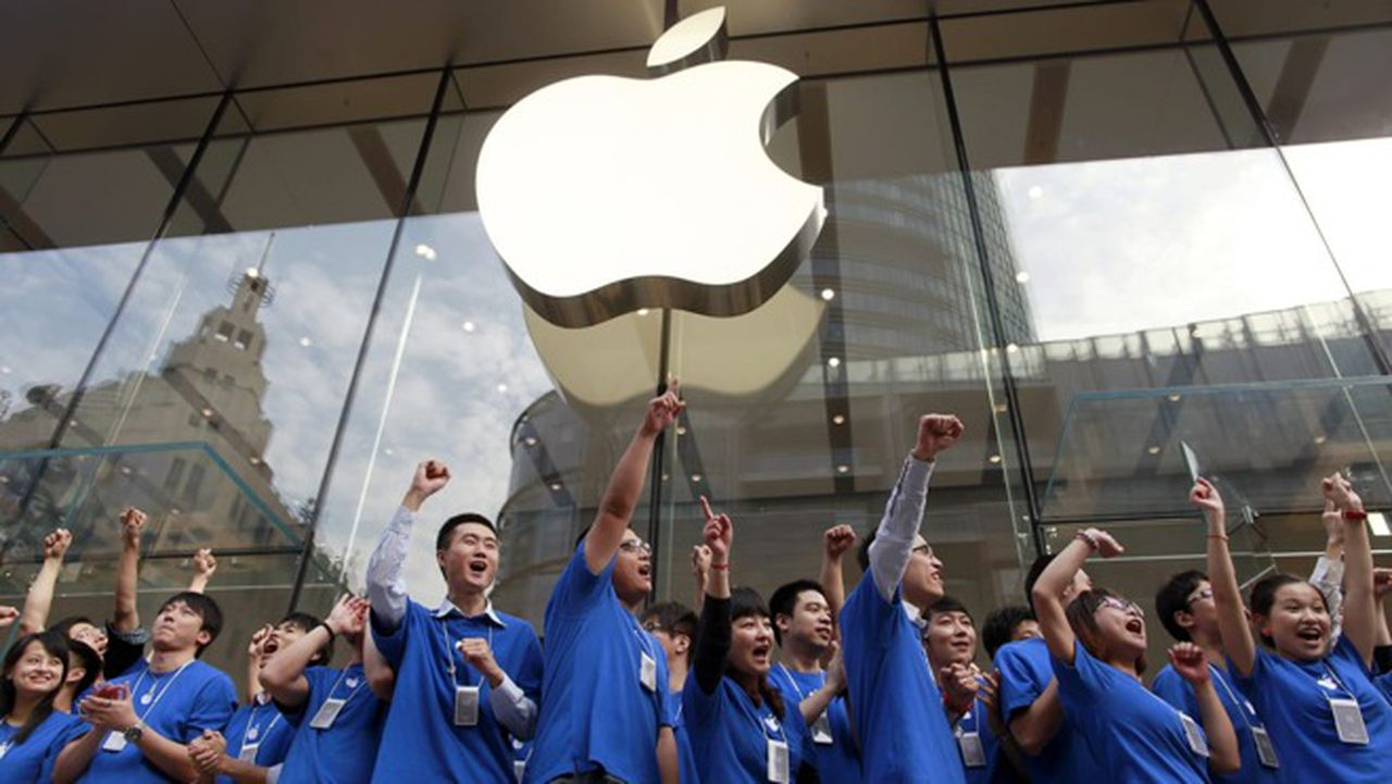 Apple reports a 225% growth in iPhone sales in China