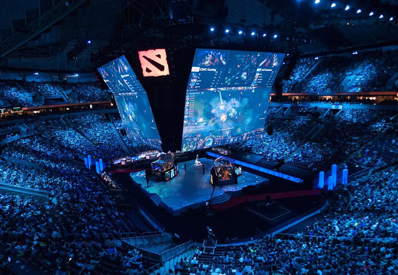 The championships will still be streamed online, image via Valve