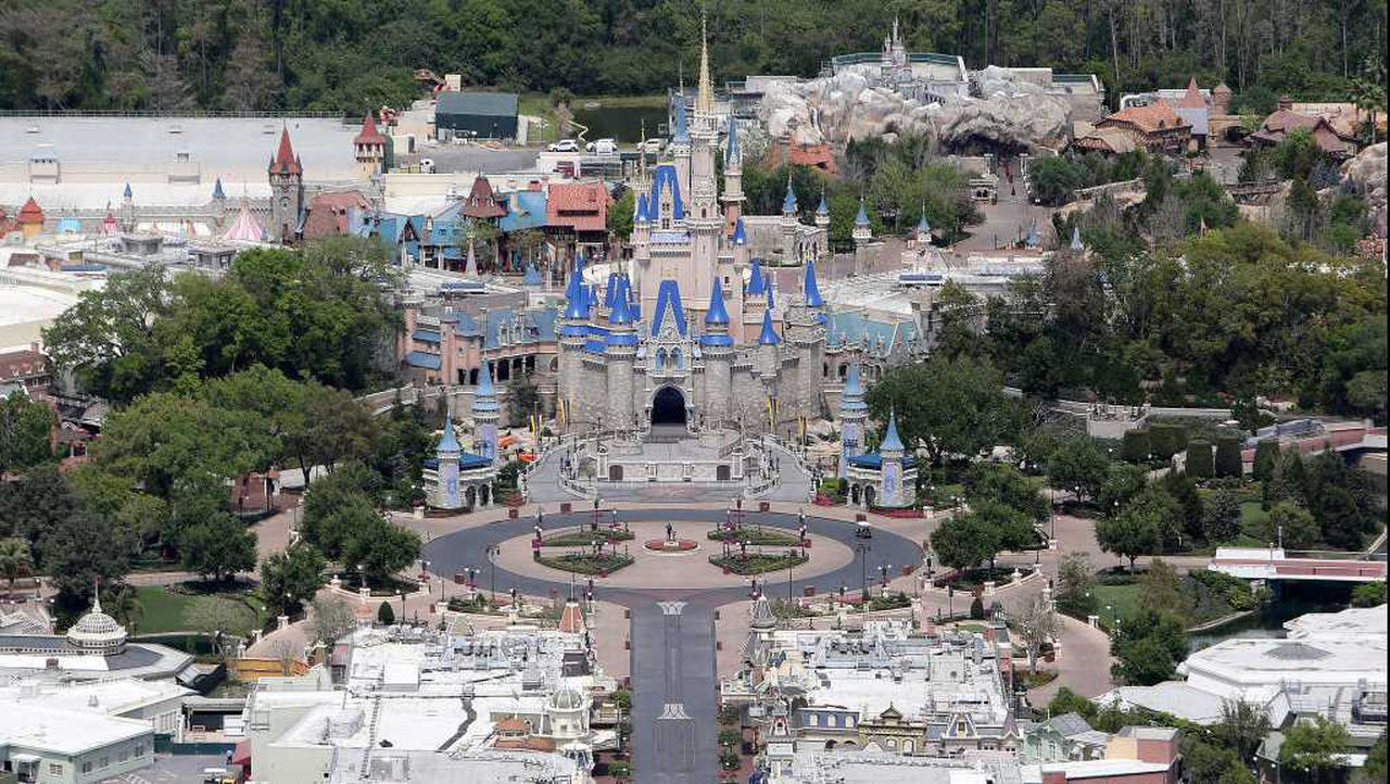 'Looked like a tropical paradise': Man arrested trying to quarantine on private Disney island