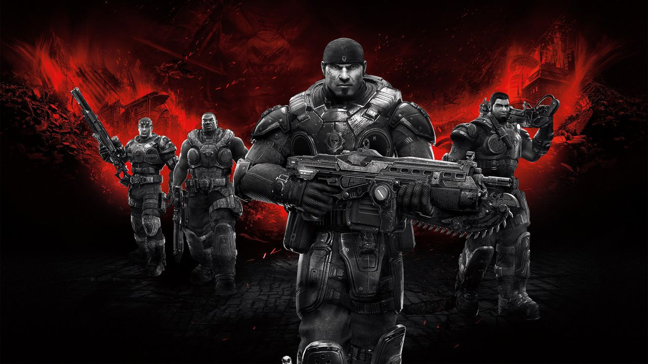 Fergusson has worked on Gears of War since 2005, image via Microsoft