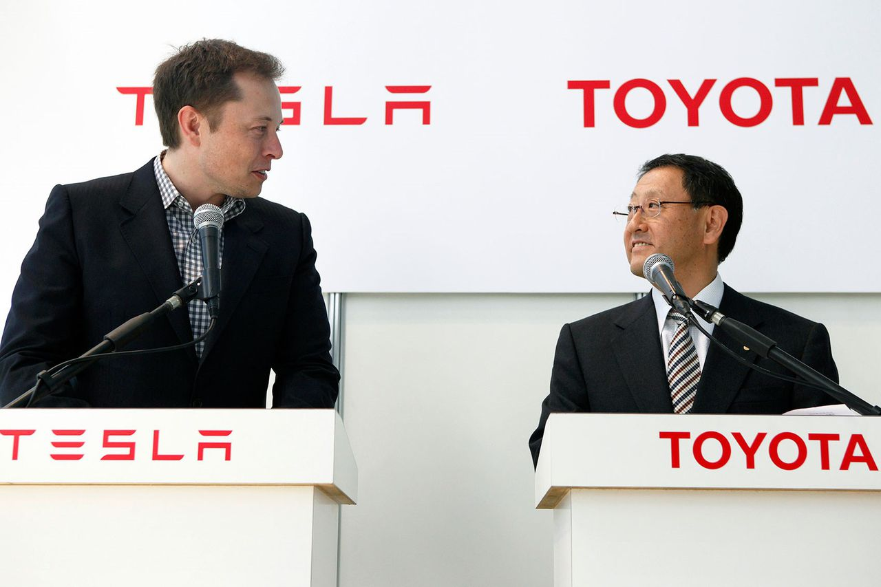 Tesla beats Toyota to become the world's most valuable automaker