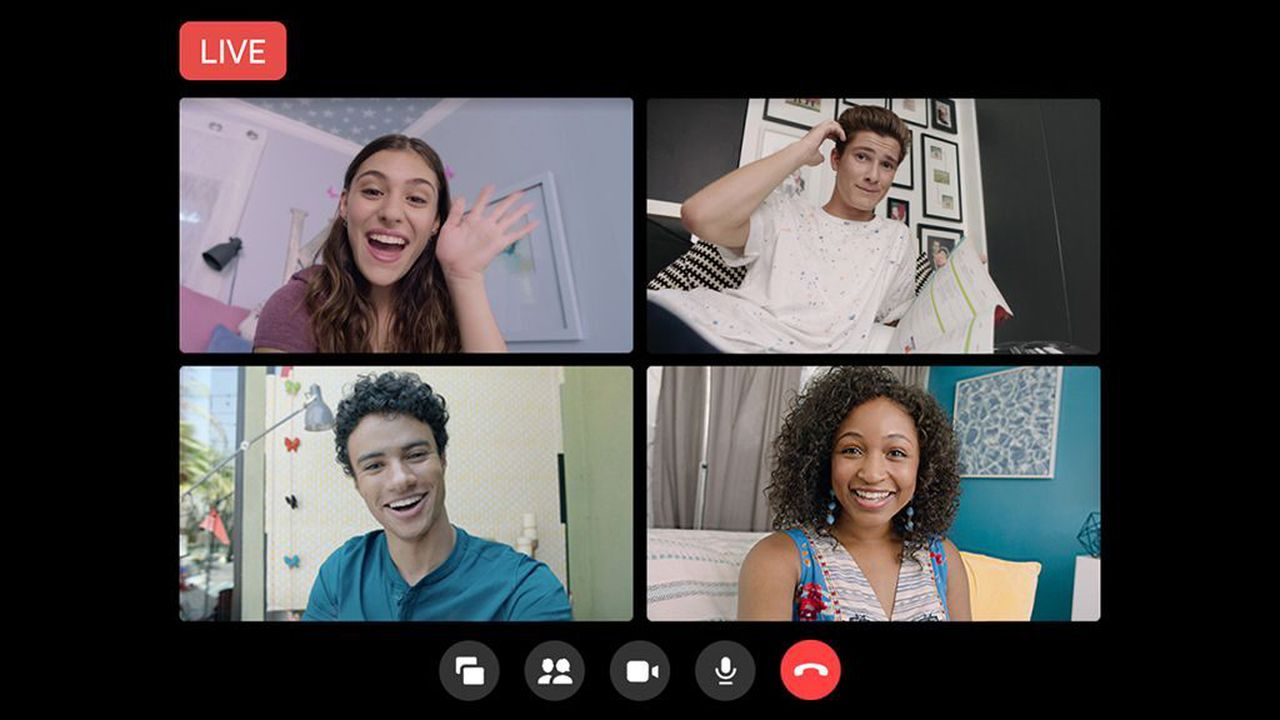 Facebook takes on Zoom with live video broadcasting for large meetings