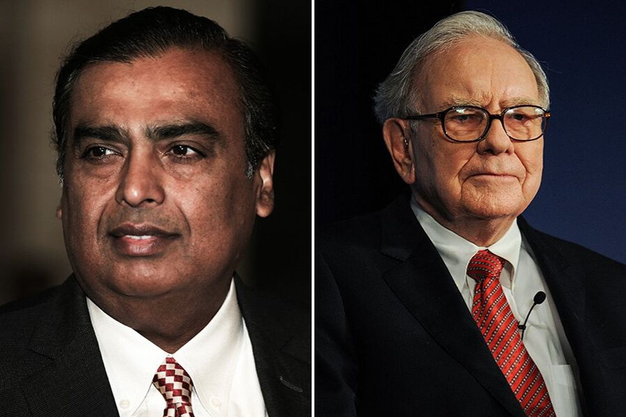 India's Mukesh Ambani is now wealthier than Warren Buffett