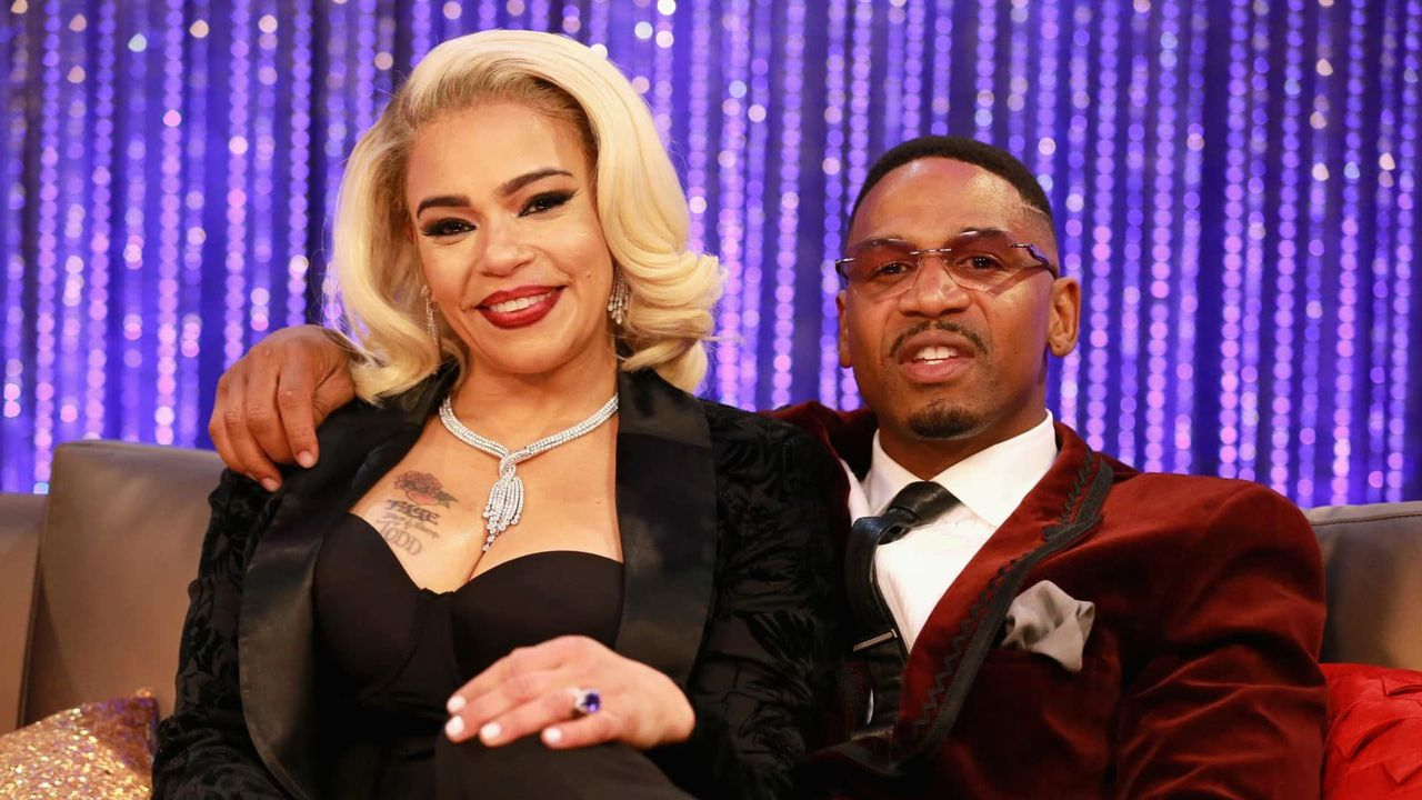 Faith Evans booked after allegedly attacking Stevie J