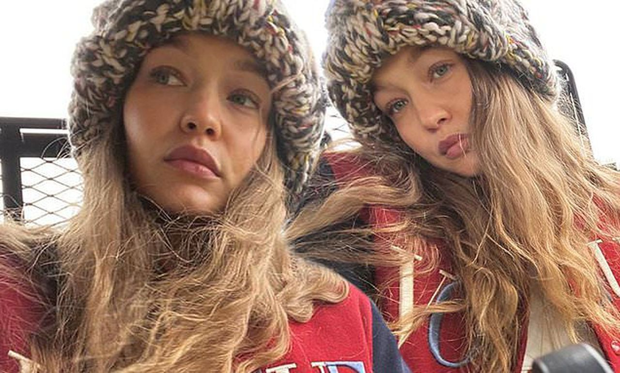 Gigi Hadid looks effortlessly stylish in laid-back selfies
