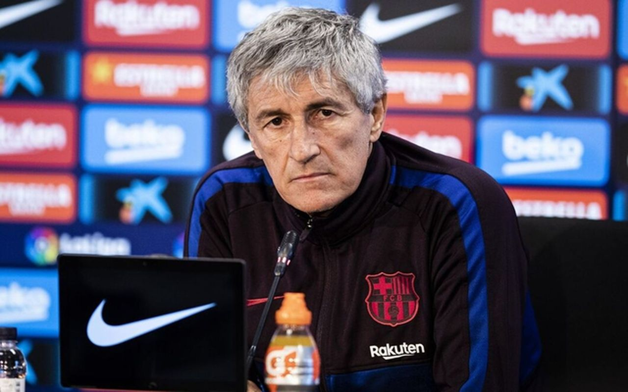 Barcelona prepared to sack Quique Setien as manager