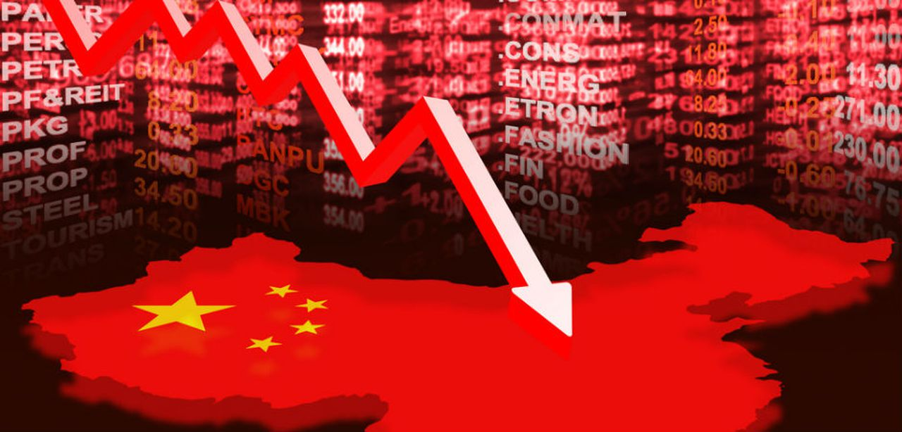 Chinese markets in red after the rise in US-China tensions