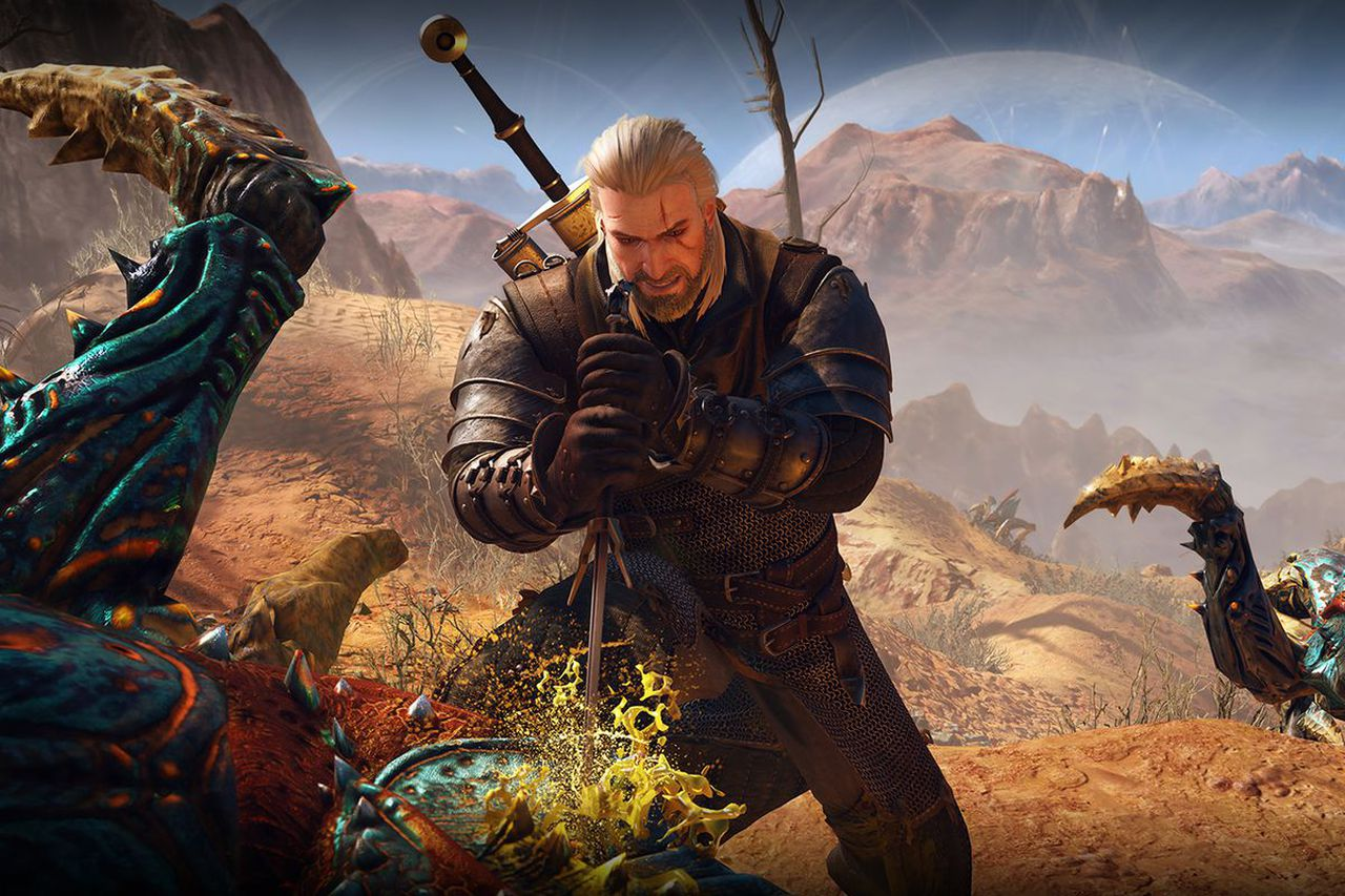 The company received a boost from the Witcher Netflix series, image via CD Projekt