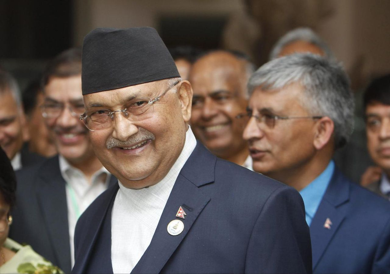 """India planning to topple my Government"", says Nepal PM"