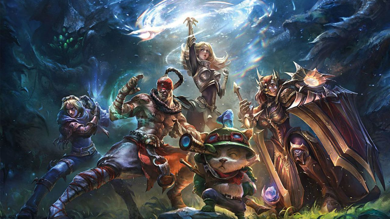 League of Legends i the largest competitive game in the world, image via Riot Games