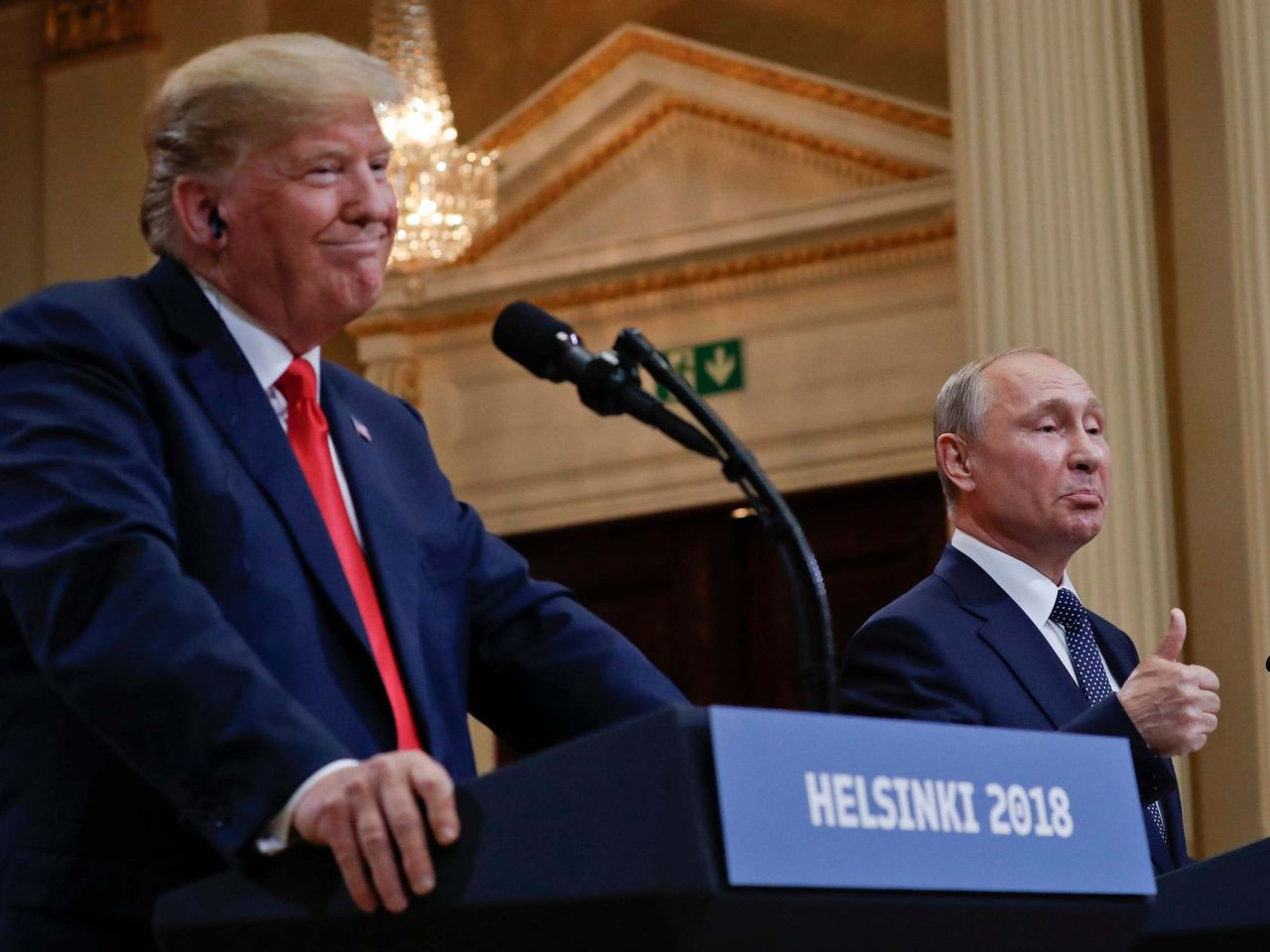Trump speaks to Putin for first time since Russian 'bounty' revelations – but apparently fails to mention it
