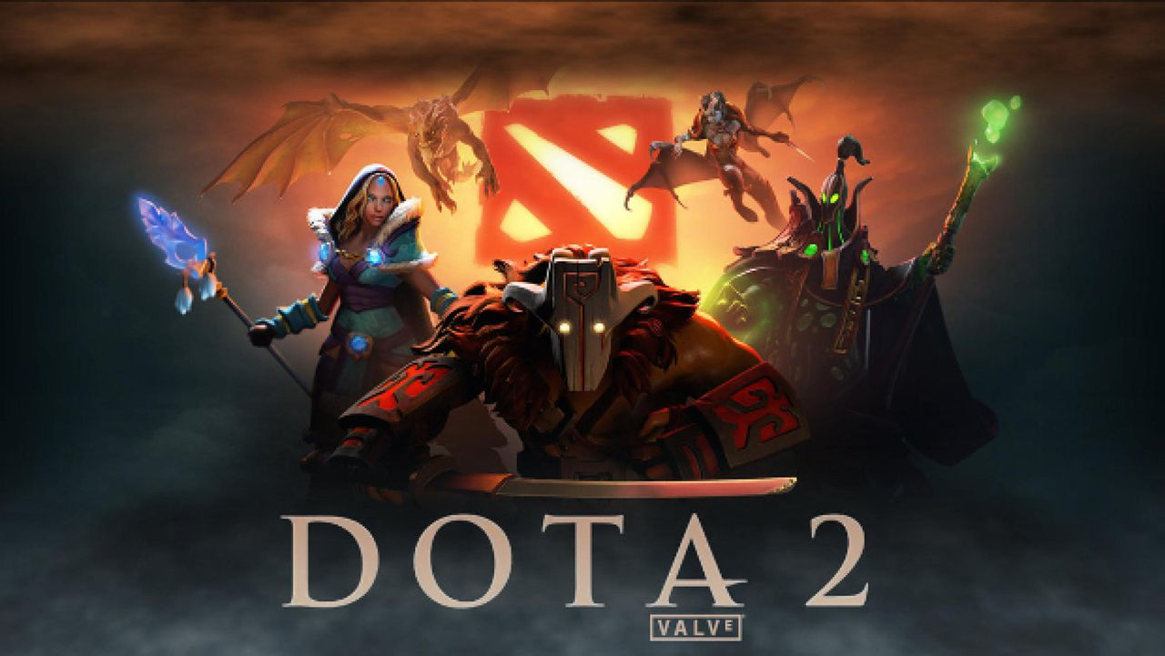 Dota 2 is one of the most popular games in the world, image via Valve