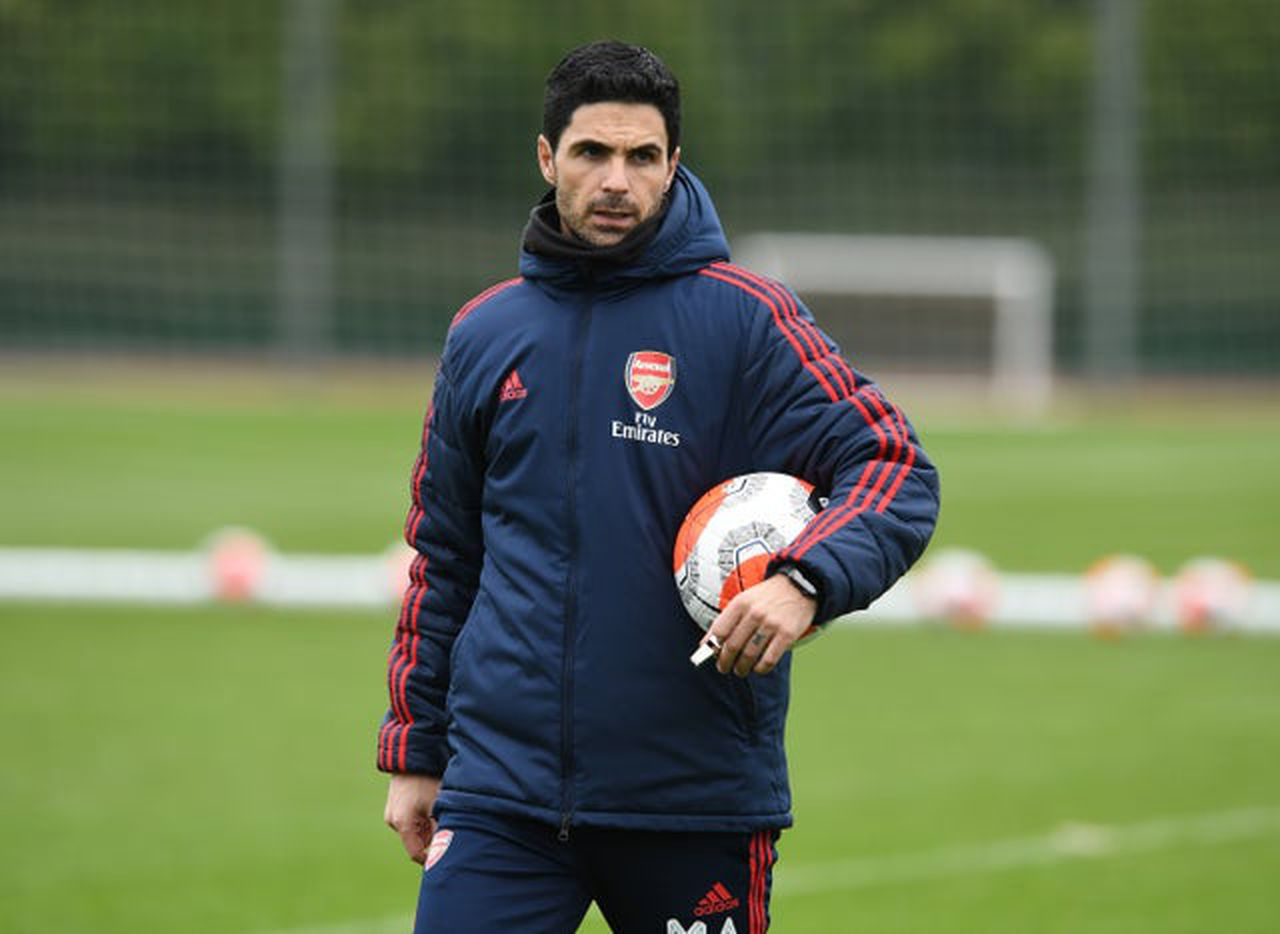 People who came into contact with Arteta are self isolating, image via Getty Images