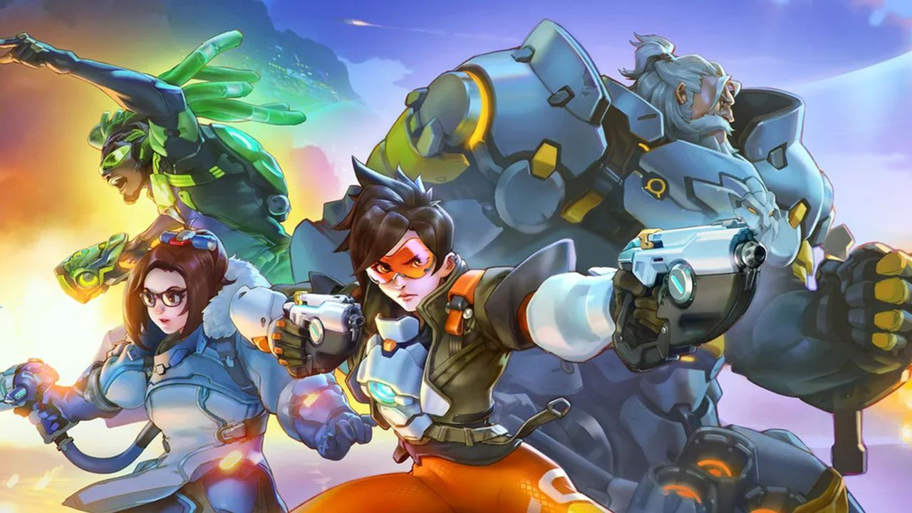 Overwatch remains one of the most popular competitive games in the world, image via Blizzard