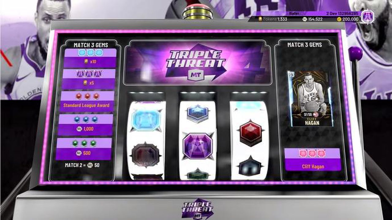Children may become addicted to gambling at a very young age, image via NBA 2k20