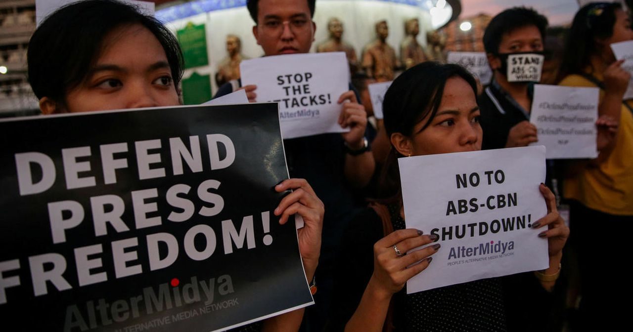 Philippines' biggest TV network silenced after years feuding with Duterte