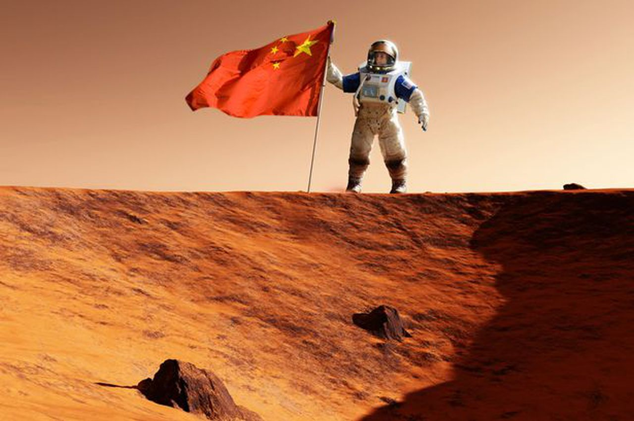 China has successfully launched its first major interplanetary mission to Mars