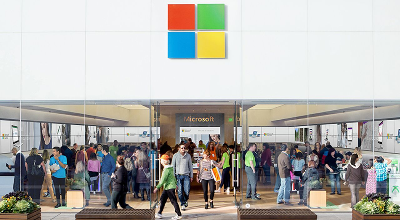 Microsoft announced the permanent closure of its retail stores