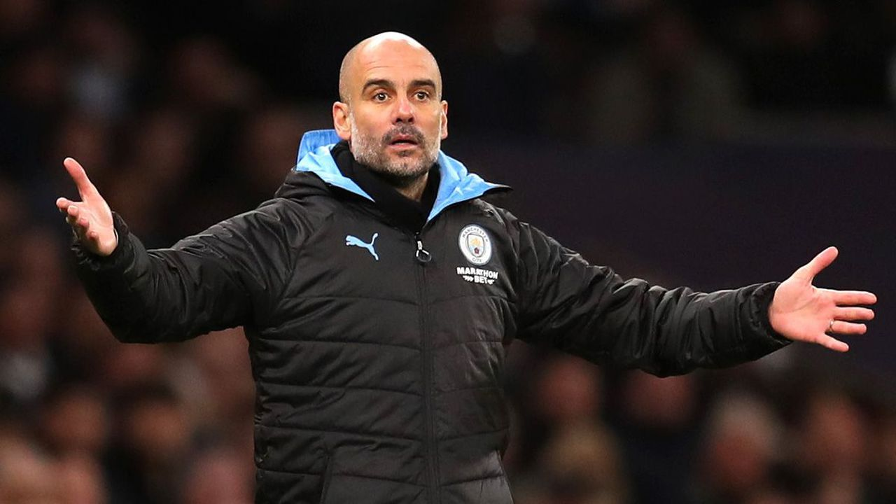 Pep Guardiola says Manchester City deserve an apology