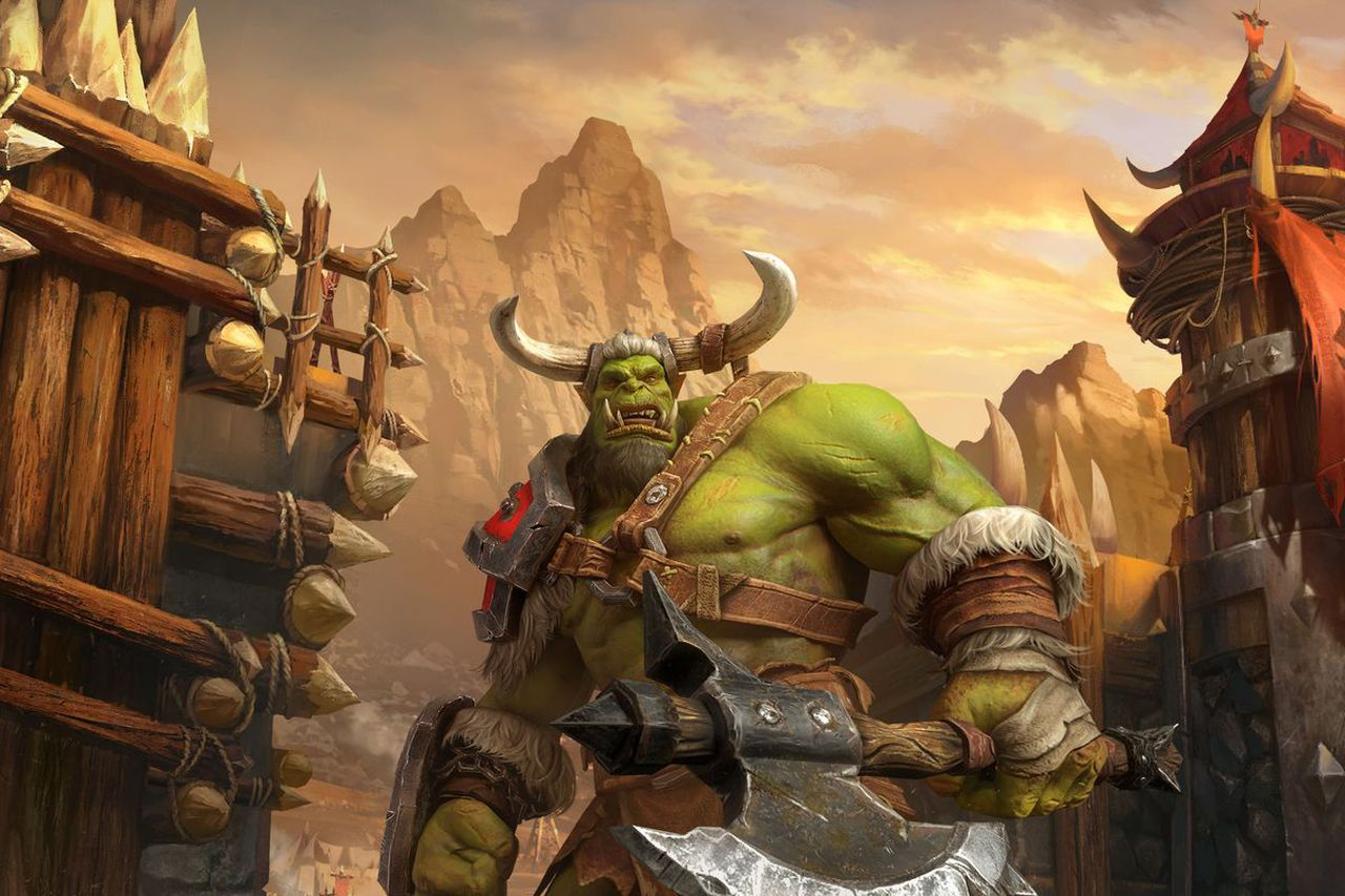 Players were forced to update their existing copies of the Warcraft 3 to the remake, image via Blizzard