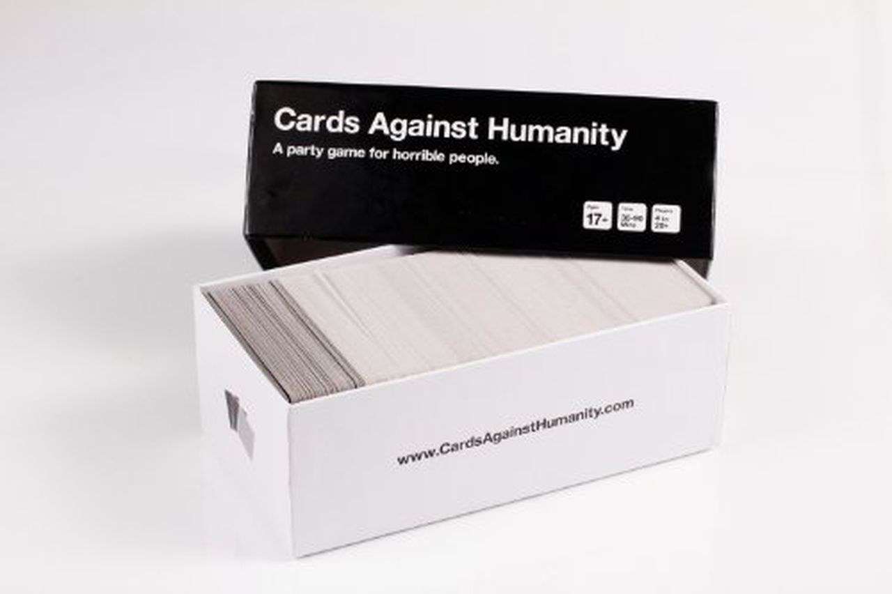 Black Friday challenge: Cards Against Humanity pitches human writers against AI. Image via the gift central
