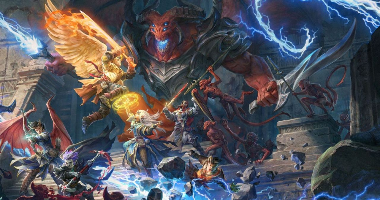 The games are based on a tabletop rpg, image via Pathfinder