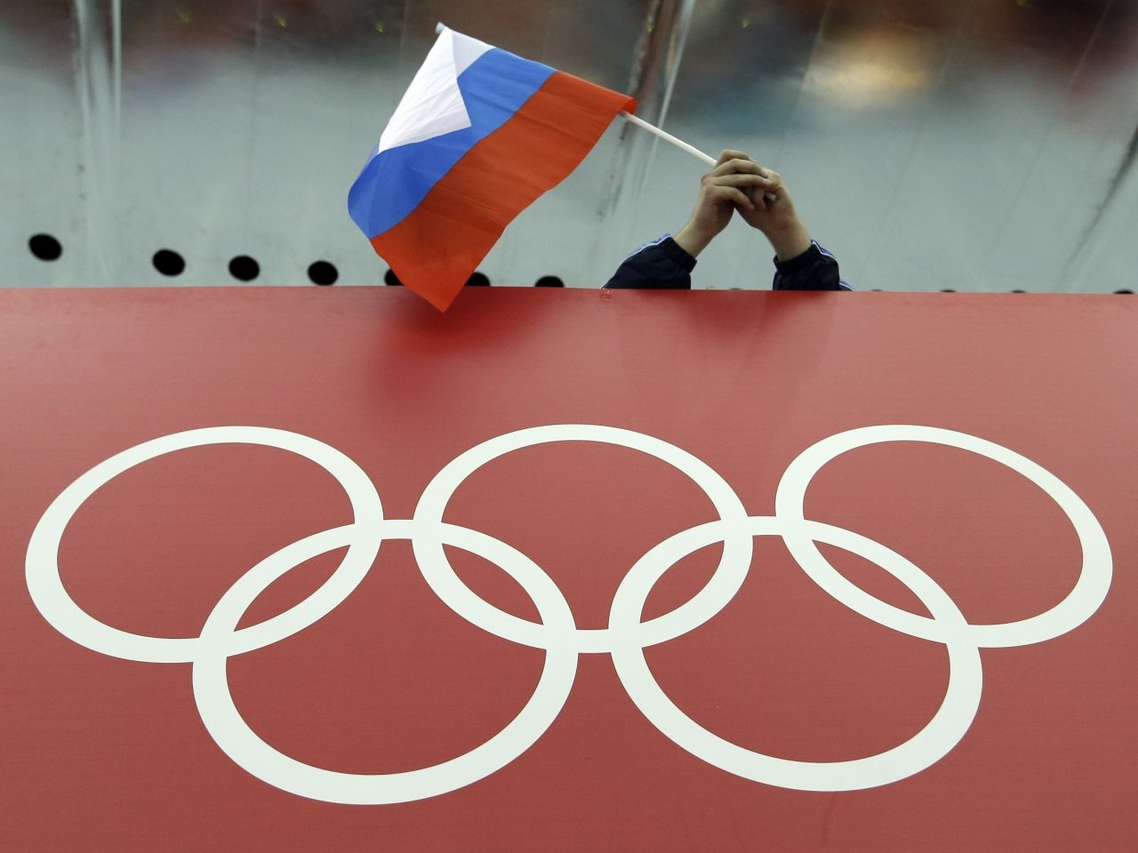 Russia has once again been accused of allowing its athletes to use performance enhancing drugs, image via AP