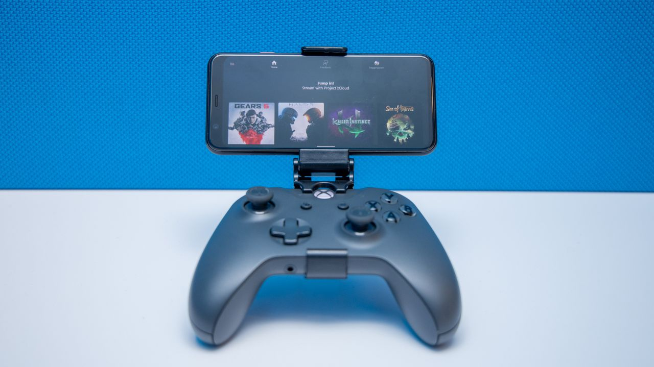 Microsoft and Samsung team up to offer Xbox-based mobile gaming service. Image via IGN.