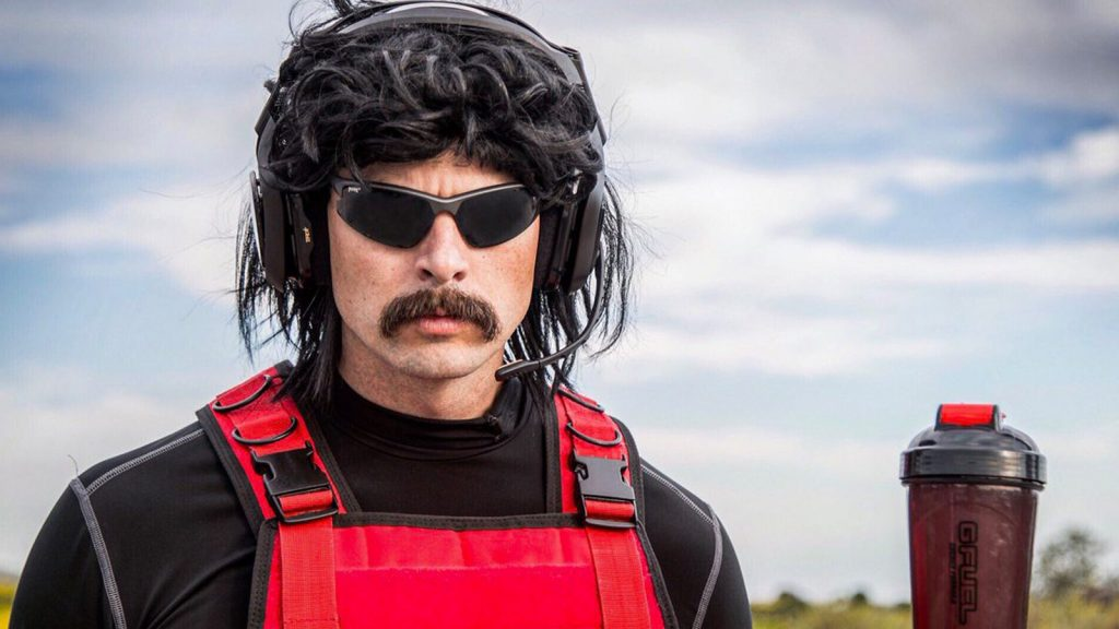 Dr Disrespect tweets about his ban on twitch