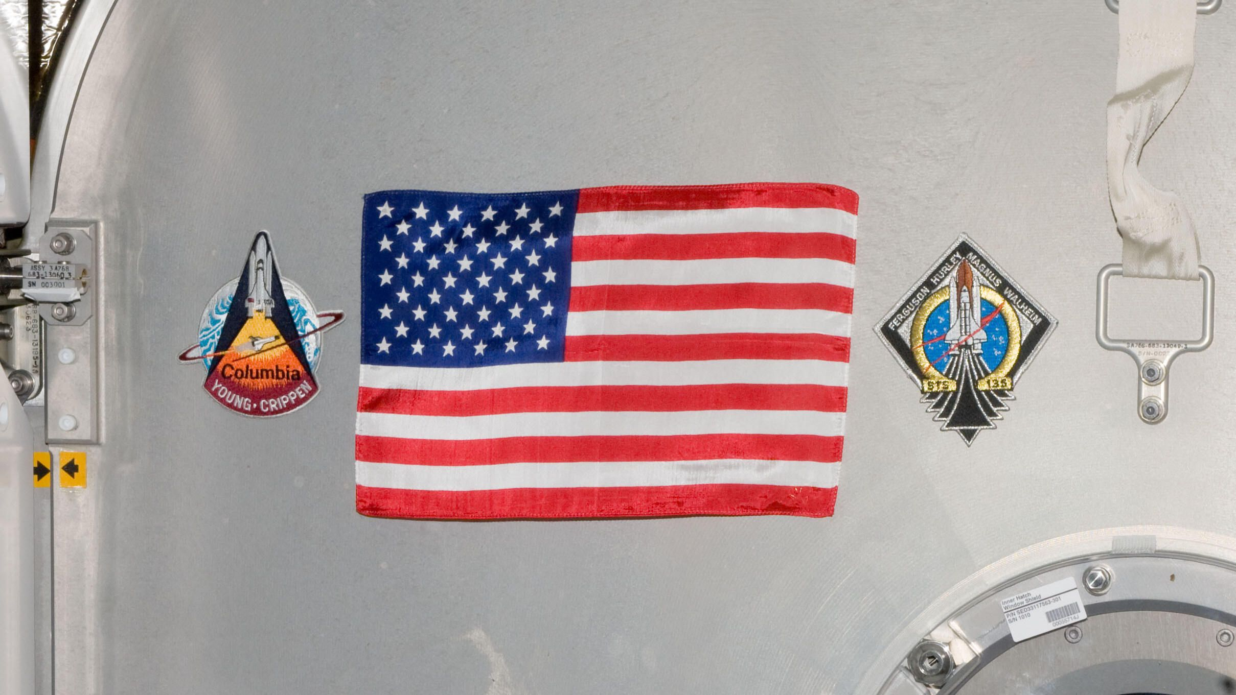 NASA's SpaceX astronauts to bring back a very special flag from the ISS
